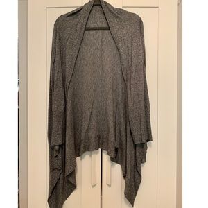 Express High-Low Marled Grey Sweater | M
